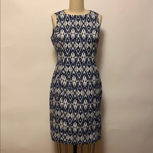 Anne Klein Dresses - Anne Klein Blue & White Dress Sz 6